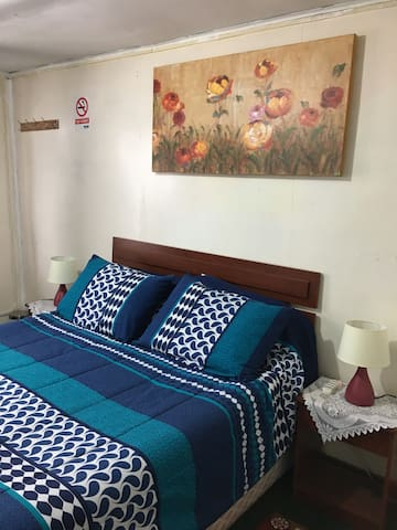 Valentine's Hostel Double Bedroom