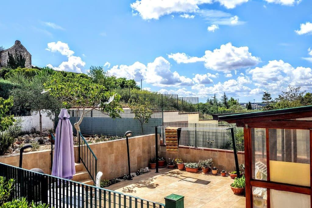 Il giardino e il gazebo