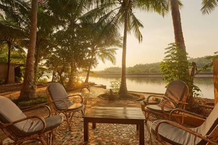 AC Riverfront 2 BD Apartment Talpona/Patnem beach