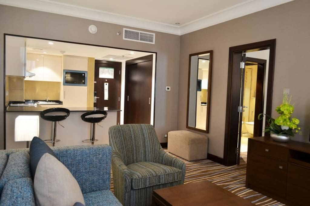 Executive Business Suite Living Room