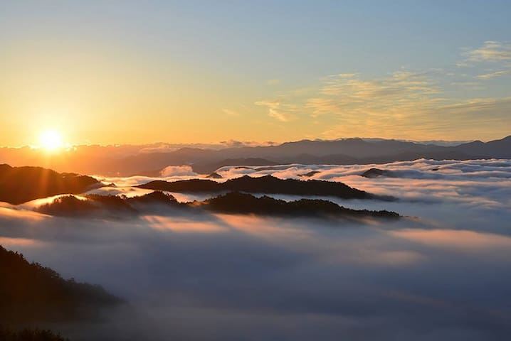 朝食付き!高野山から車で15分、全室貸切最大7名*10月17日~最大5名*一般家庭の民宿雲海の里の宿