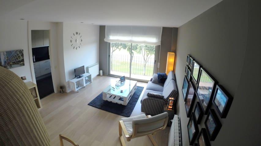 Luminoso apartamento a los pies del Montseny