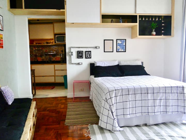 Studio 102 no Centro de São Paulo