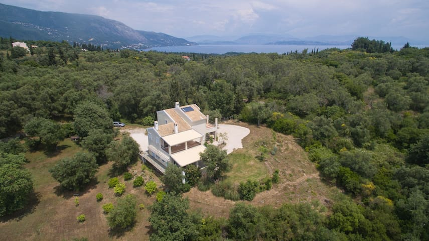 Holidays in an olive grove - Corfu - Korfu - Hus