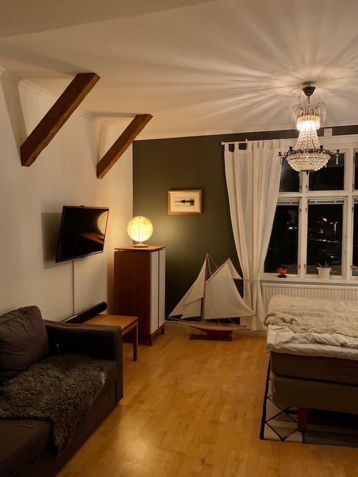 Mysig Lägenhet på Stensö, 500 m från Kalmar c