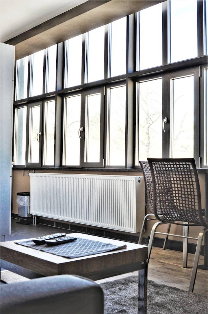 Modern, neu eingerichtete Wohnung, zentral gelegen