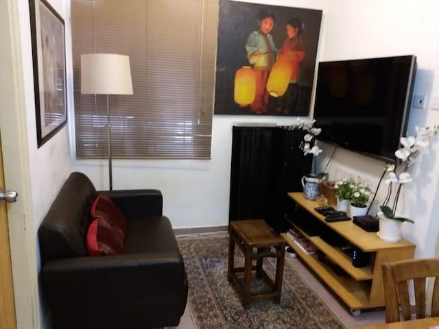 Cozy room near3 PacificPlace 8 MinwalkMTR/Bus/Tram