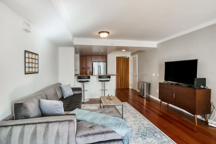 Beautiful 1BR Condo in SF with Gym