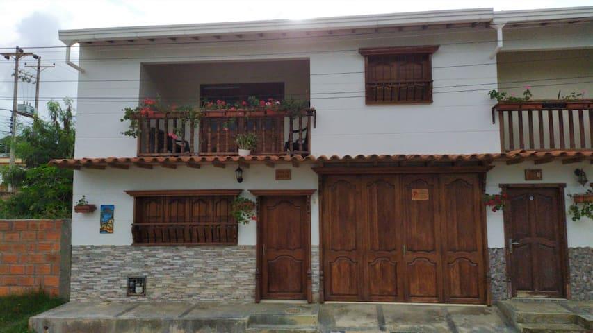 Casa de ensueño en Zapatoca (Clima de seda).