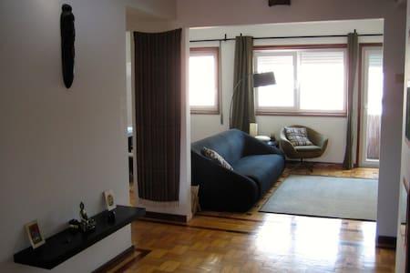 Sunny Room With Private Balcony - Porto