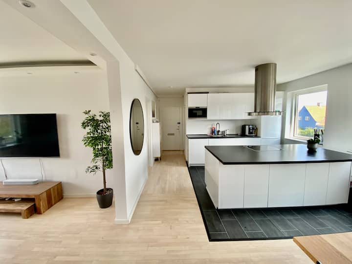 Villa Apartment in copenhagen (Free parking)