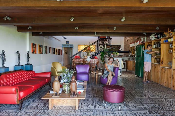 Casa de Olinda - Quarto Triplo - Olinda - Bed & Breakfast
