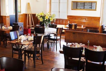 "Hotel Restaurant "" Le Saumon"" - Buzancy"