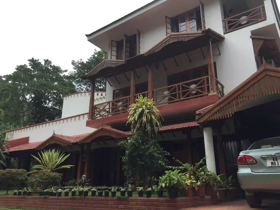 Another view of the Villa