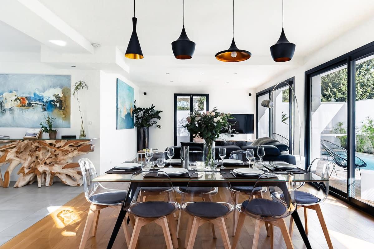 Villa contemporaine avec piscine à Biarritz