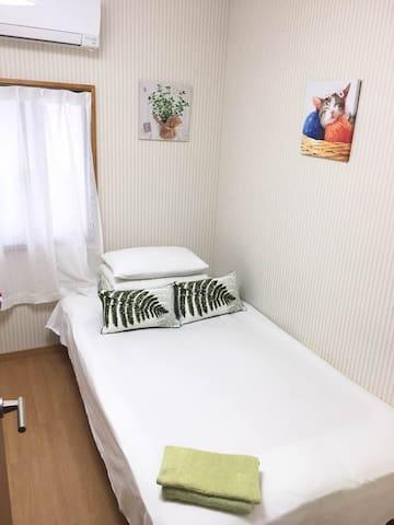 #103#1 double-bed room Room - Shinjuku-ku - Casa