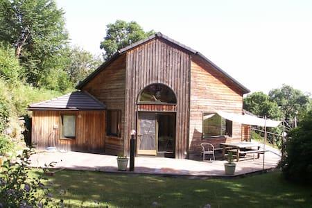 Maison bois dans  Parc des Volcans - Ceyssat - Huis