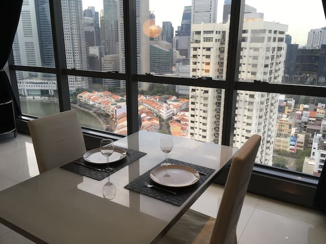Chic Apt @ Boat Quay & Clark Quay - Singapore - Apartment