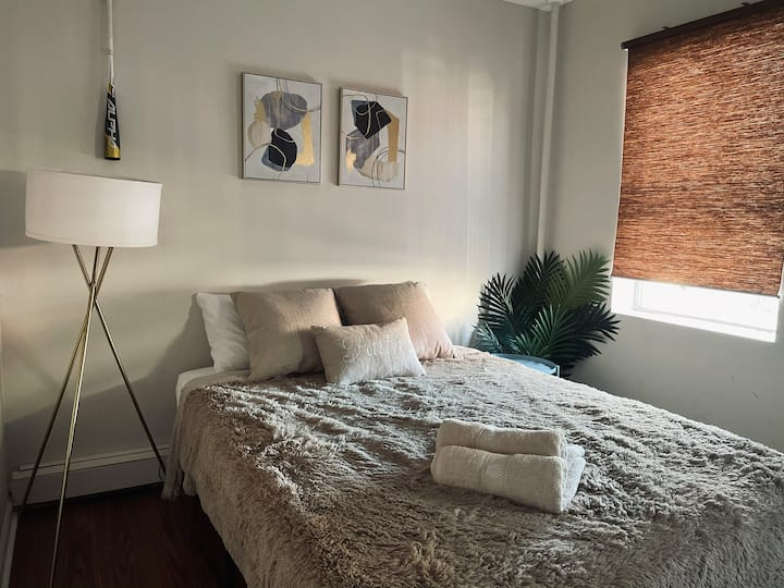 Sparkling clean bedroom