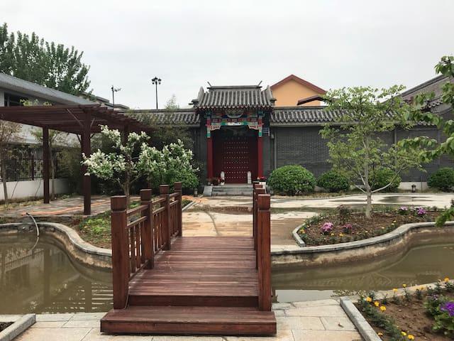 天津市蓟州区毛家峪附近四合院
