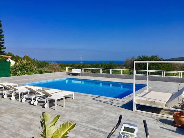 best for natural Ibiza - sea view - pool - Sant Carles de Peralta - House