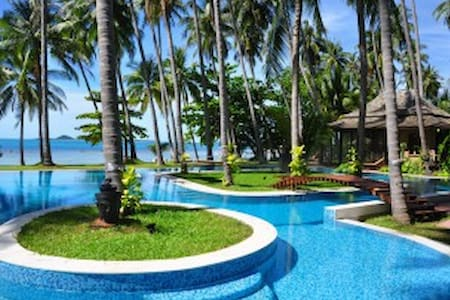 INCREDIBLE BEACHFRONT HAVEN - FOR GROUPS / EVENTS - Ko Samui
