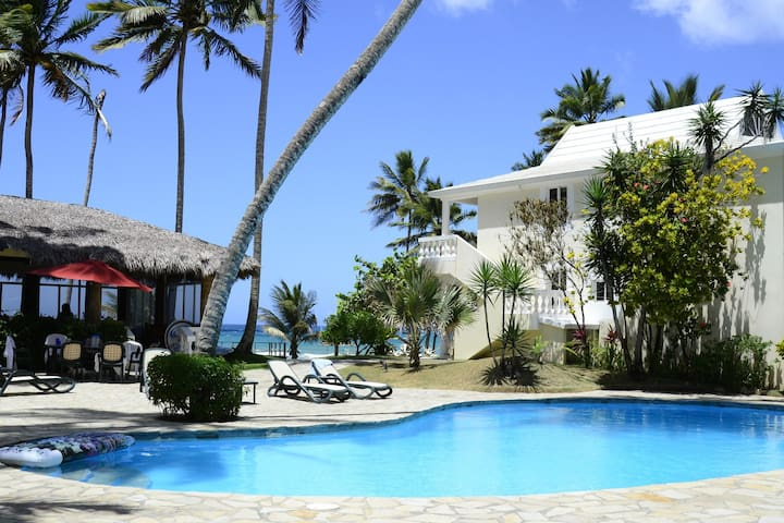 Beach Front Apartments for GROUPS near Cabarete