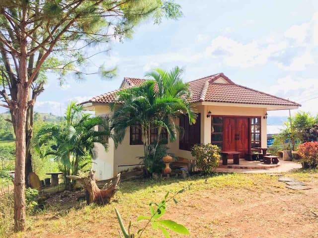 บ้านพักตากอากาศ@เขาค้อ #2 Natural Home for Rent !! #2