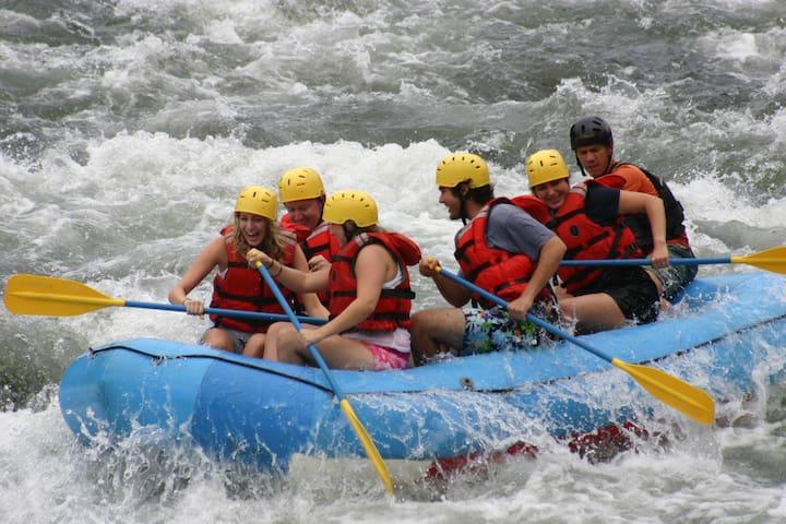 White Water Rafting Sarapiqui River, Houses 8 - Heredia - Hus