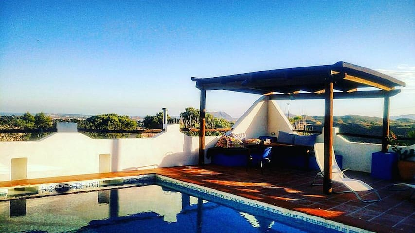 PuestaDelSol, a romantic room with views