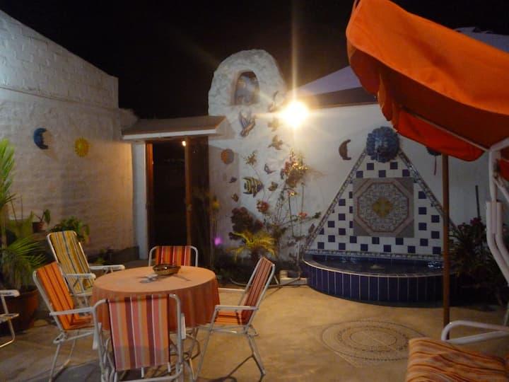 Linda casa En Playa Lobos