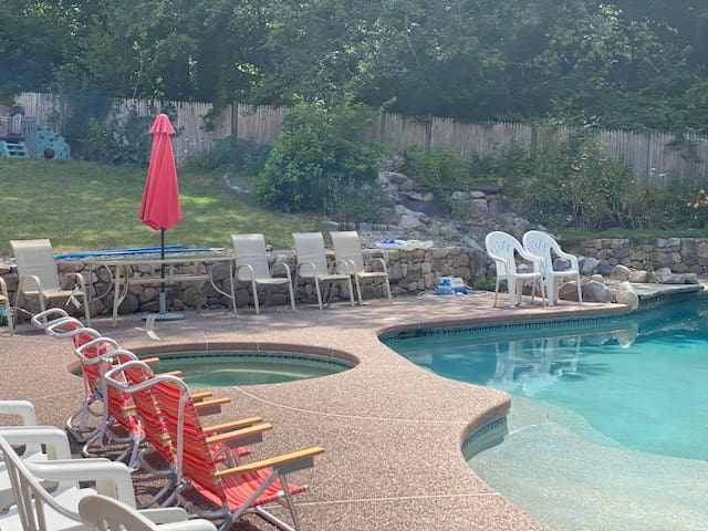 Gorgeous pool! Open for day use