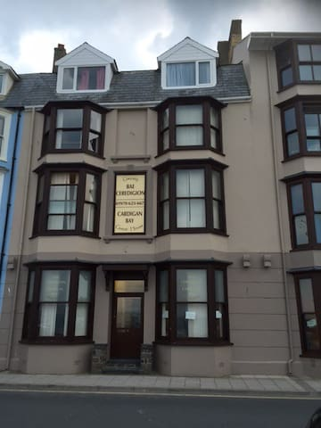 Rear Facing Single Room - Aberystwyth Seafront - Aberystwyth - Bed & Breakfast
