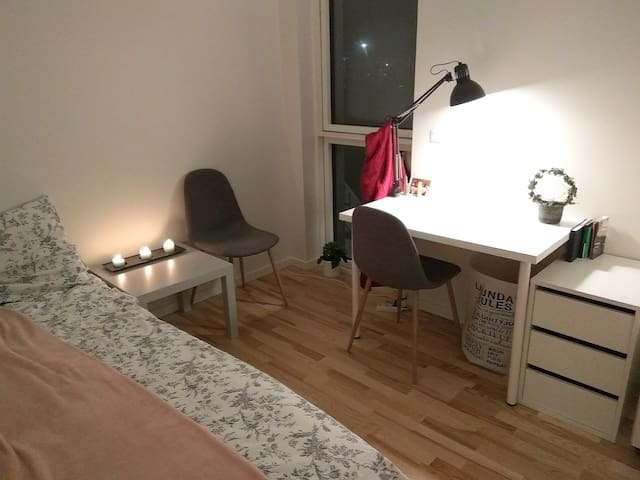 Cosy and tidy little room in Aalborg centrum
