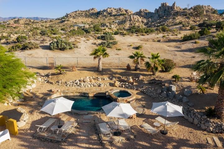 Cobalt Desert Oasis - Salt water pool & spa