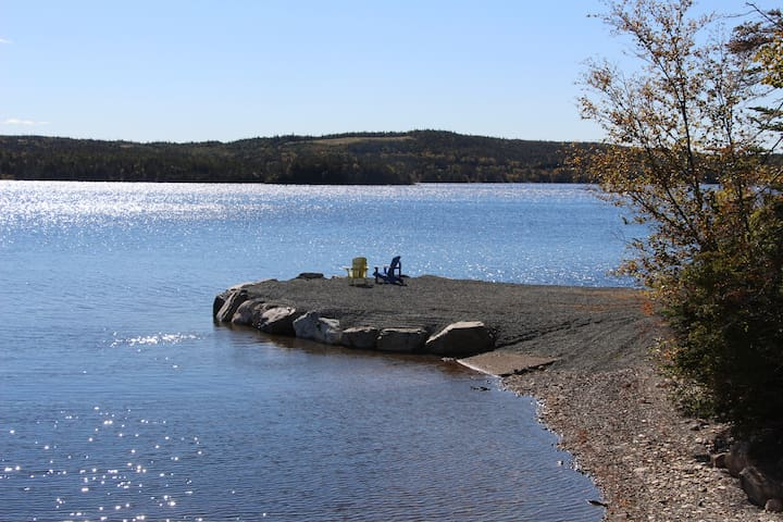 A great place to swim, kayak or laze in the sun!