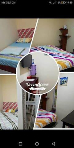Homestay,budget hotel,3small3big room(RM80,RM160)