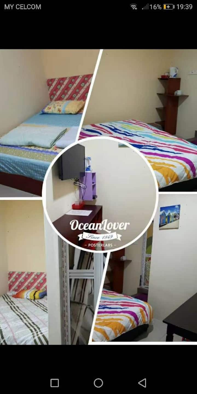 Homestay,budget(3small room #Rm80,3big room#Rm160)