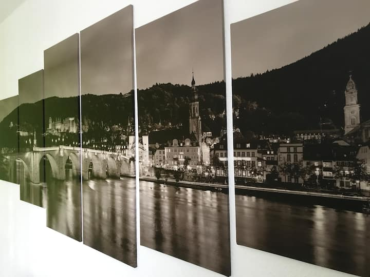 Pure Heidelberg - central situated apartment + P