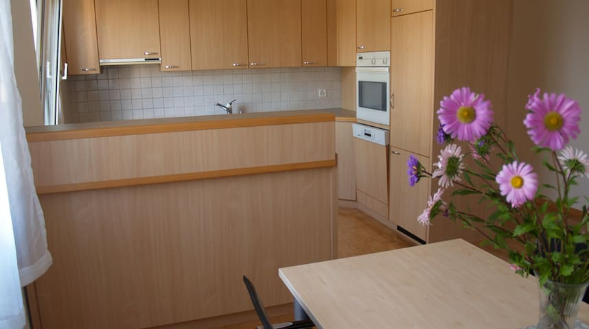Friendly and quiet apartment for rent in Berg.