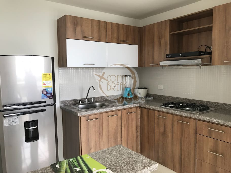 Kitchen full tools/ Cocina equipada