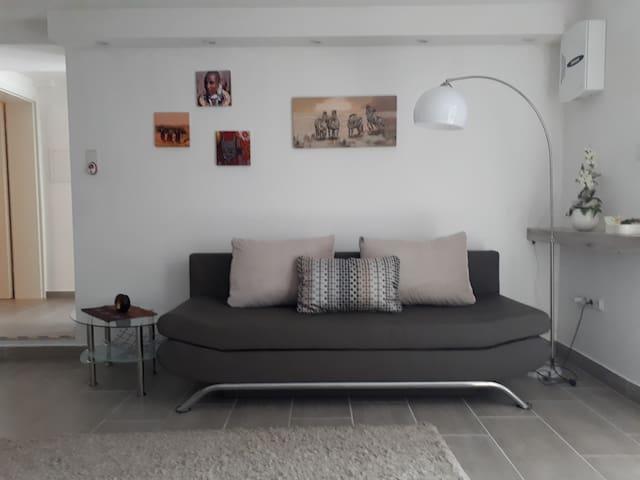 Schöne und modern ausgestattete 48qm Ferienwohnung