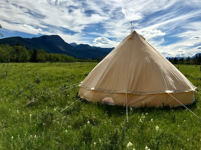 Luxury Camping- Western Bell Tent