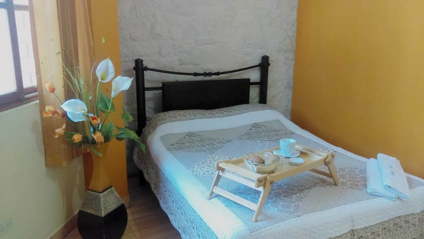 Deluxe rooms in from of `Las Musas`