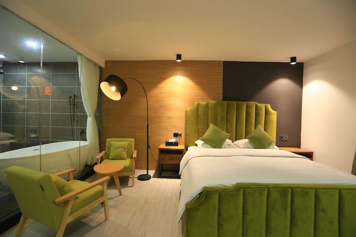 2号店-3楼302豪华大床房 - Shenzhen Shi