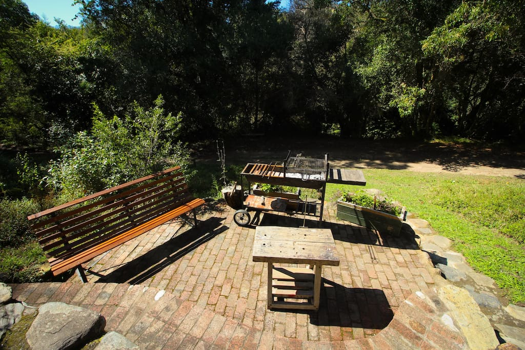 Barbecue/braai area