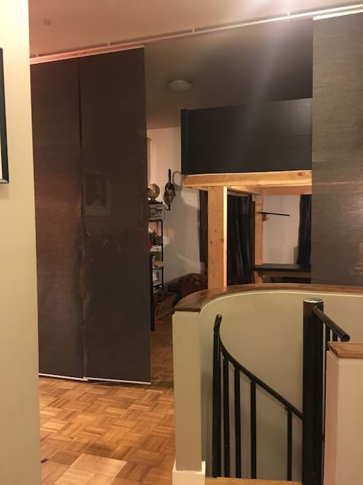 Bedroom Loft & Office Space