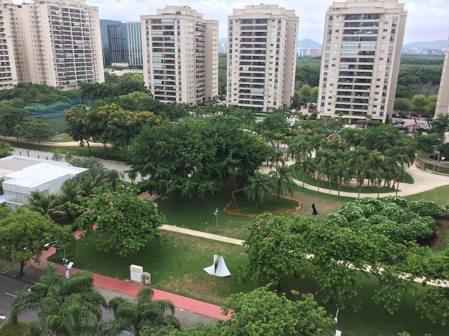 Vista para o Green Park