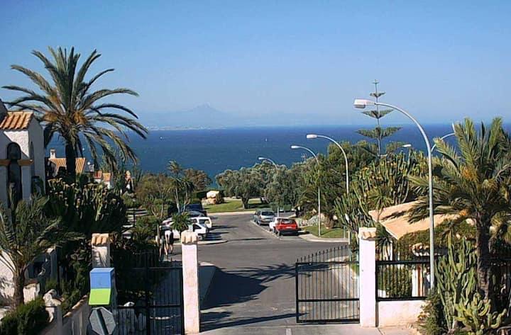 Beautiful views over Alicante Bay