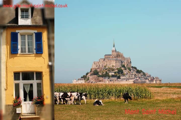 Gite mont saint michel pontorson townhouses for rent in for Au jardin st michel pontorson france